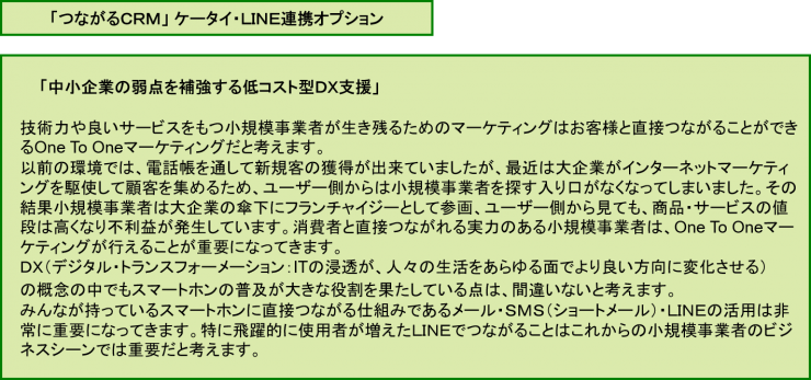 ケータイ・LINE連携オプション1